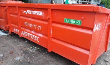 Kontener 7m3 na śmieci i gruz